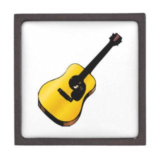 Guitarra del arte pop cajas de joyas de calidad
