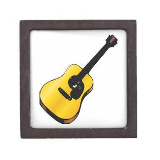 Guitarra del arte pop cajas de recuerdo de calidad