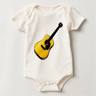 Guitarra del arte pop enterito