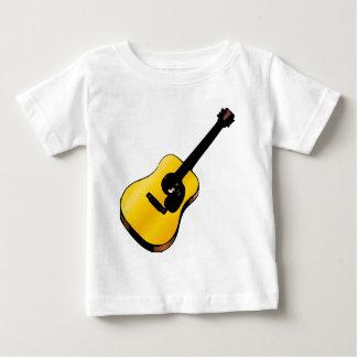 Guitarra del arte pop playera de bebé