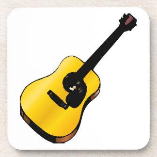 Guitarra del arte pop posavasos