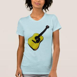 Guitarra del arte pop remera