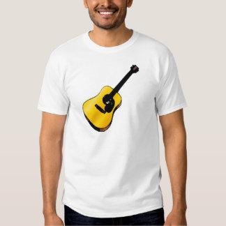 Guitarra del arte pop remeras