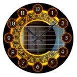 Guitarra del flamenco por el rafi talby relojes de pared