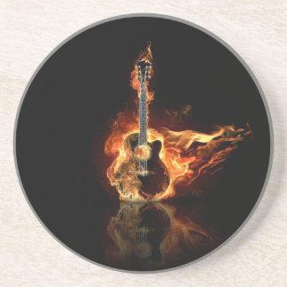 guitarra del flamin posavasos personalizados