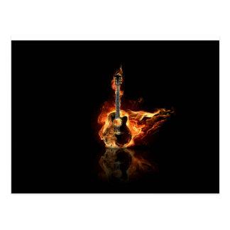 guitarra del flamin postal