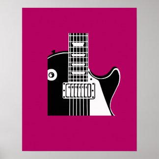 Guitarra del instrumento de música - músicos impresiones