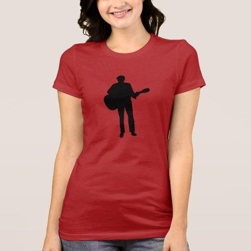 Guitarra del músico del concierto camiseta