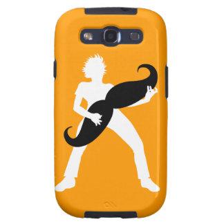 Guitarra del pelo galaxy SIII coberturas