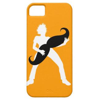 Guitarra del pelo funda para iPhone SE/5/5s