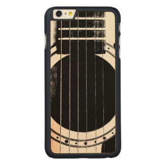 Guitarra del vintage funda de arce carved® para iPhone 6 plus