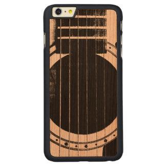 Guitarra del vintage funda de cerezo carved® para iPhone 6 plus