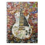 Guitarra del vintage - libro de apuntes