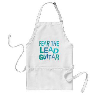 Guitarra divertida de la ventaja delantales