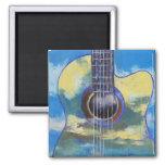 Guitarra e imán de las nubes