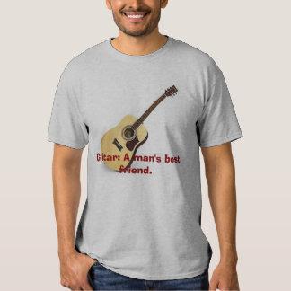 Guitarra: El mejor amigo de un hombre Playeras