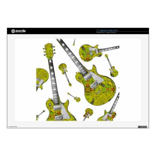 Guitarra eléctrica 05.jpg portátil 43,2cm skins