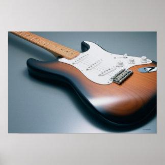 Guitarra eléctrica 10 póster