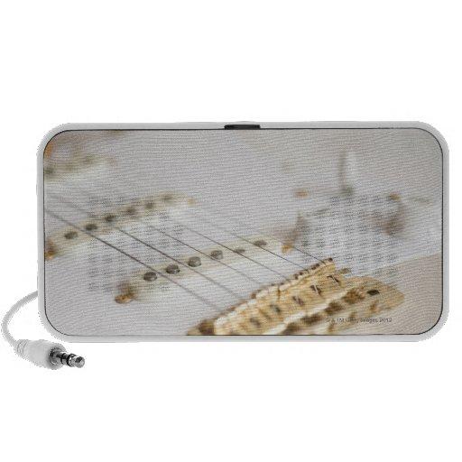 Guitarra eléctrica 11 mp3 altavoces