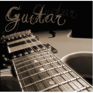 Guitarra eléctrica 2 - Brown Imán Fotoescultura