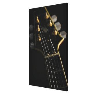 Guitarra eléctrica 3 impresiones en lona