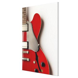 Guitarra eléctrica 5 impresión en lona estirada
