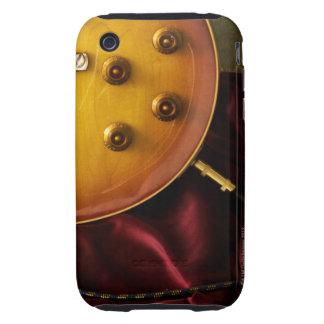 Guitarra eléctrica 6 carcasa resistente para iPhone