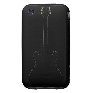 Guitarra eléctrica 9 funda though para iPhone 3