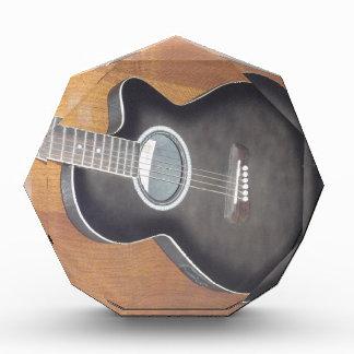 Guitarra eléctrica acústica