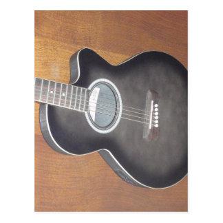 Guitarra eléctrica acústica postal