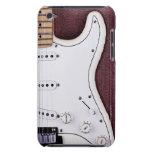 Guitarra eléctrica blanca 2 iPod touch Case-Mate carcasa
