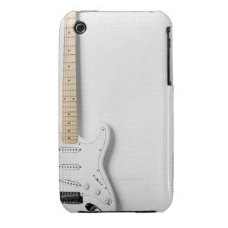 Guitarra eléctrica blanca 3 carcasa para iPhone 3