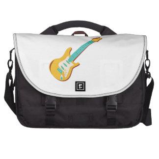 Guitarra eléctrica bolsa de ordenador