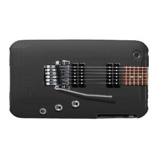 Guitarra eléctrica carcasa para iPhone 3