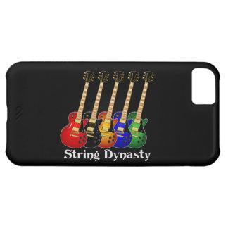 Guitarra eléctrica de la dinastía de la secuencia carcasa iPhone 5C