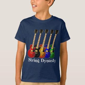 Guitarra eléctrica de la dinastía de la secuencia playera
