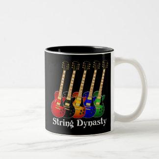 Guitarra eléctrica de la dinastía de la secuencia taza de dos tonos