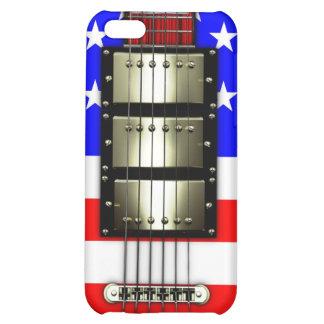Guitarra eléctrica de las barras y estrellas