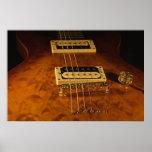 Guitarra eléctrica de madera impresiones