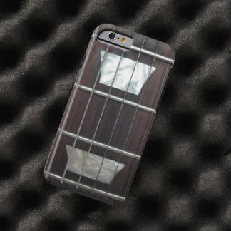 Guitarra eléctrica del vintage funda de iPhone 6 tough