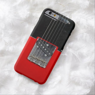 Guitarra eléctrica del vintage funda para iPhone 6 barely there