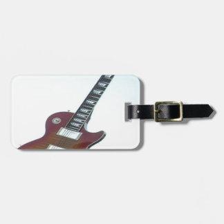 Guitarra eléctrica etiquetas bolsas