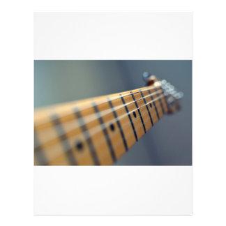 "Guitarra eléctrica folleto 8.5"" x 11"""