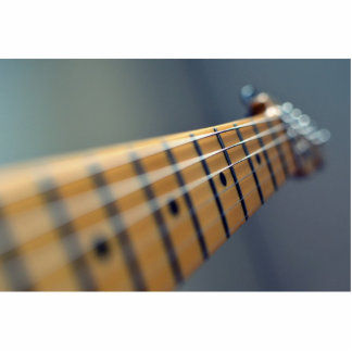 Guitarra eléctrica fotoescultura vertical