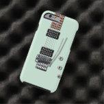 Guitarra eléctrica funda de iPhone 6 tough