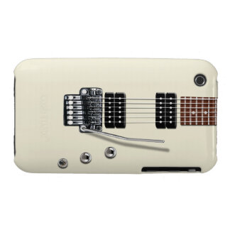 Guitarra eléctrica funda para iPhone 3 de Case-Mate
