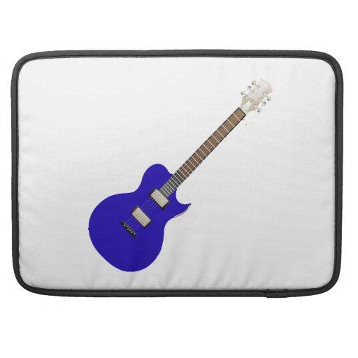 guitarra eléctrica graphic.png azul funda para macbooks