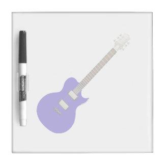 guitarra eléctrica graphic.png azul tablero blanco