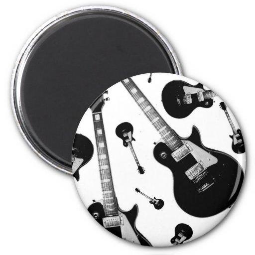 Guitarra eléctrica iman de nevera