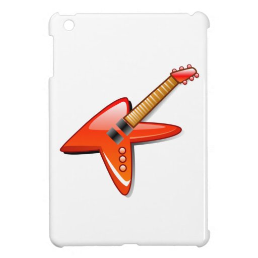 Guitarra eléctrica iPad mini protector
